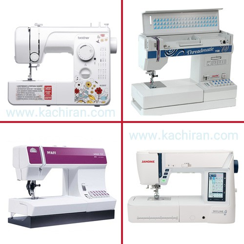Know the types of sewing machines. (Part 1 ))کاچیران -