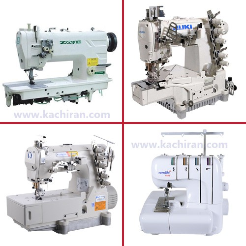 Industrial Sewing Machines) Know the types of sewing machines. (Part 1(کاچیران -